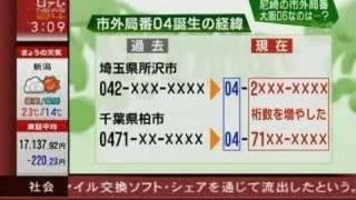 尼崎の市外局番が06なのは何故?