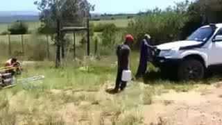 Suid Afrikaanse Plaas Boer Prank