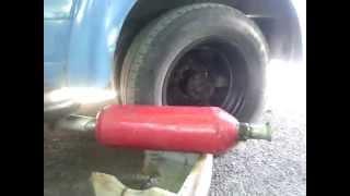видео Как сделать глушитель своими руками из огнетушителя