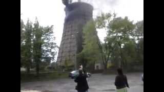 Pożar komina w elektrowni Halemba