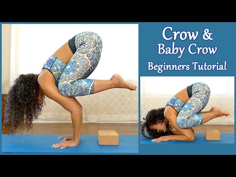 Beginners Yoga Challenge: How to do Crow Pose ♥ 20 Min Class for Flexibility, Core & Mental Focus