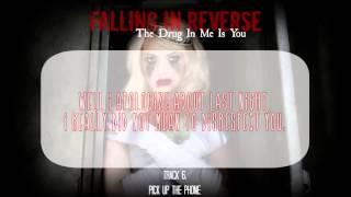 Falling In Reverse -- The Drug In Me Is You (Full Album + Lyrics)