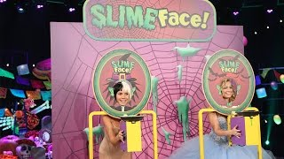 Heidi Klum and Beth Behrs Play Slime Face!