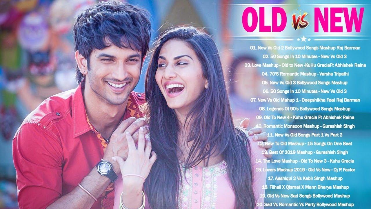 Old Vs New Bollywood Mashup Songs 2020   90's80's70's Romantic Evergreen songs Mashup