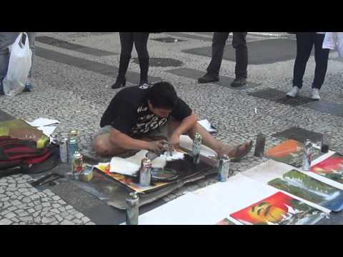 Artista de Rua em SP