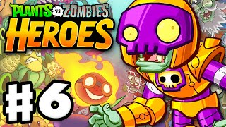 Plants vs. Zombies: Heroes - Gameplay Walkthrough Part 6 - Rustbolt! (iOS, Android)
