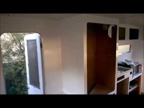 Millard Caravan - Part 2: Wall and Cupboards Renovation