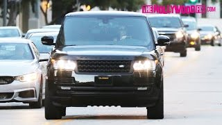 Kendall Jenner Arrives Home To Her Luxury Condominium In Los Angeles