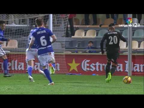 Resumen de Reus vs Real Oviedo (1-1)