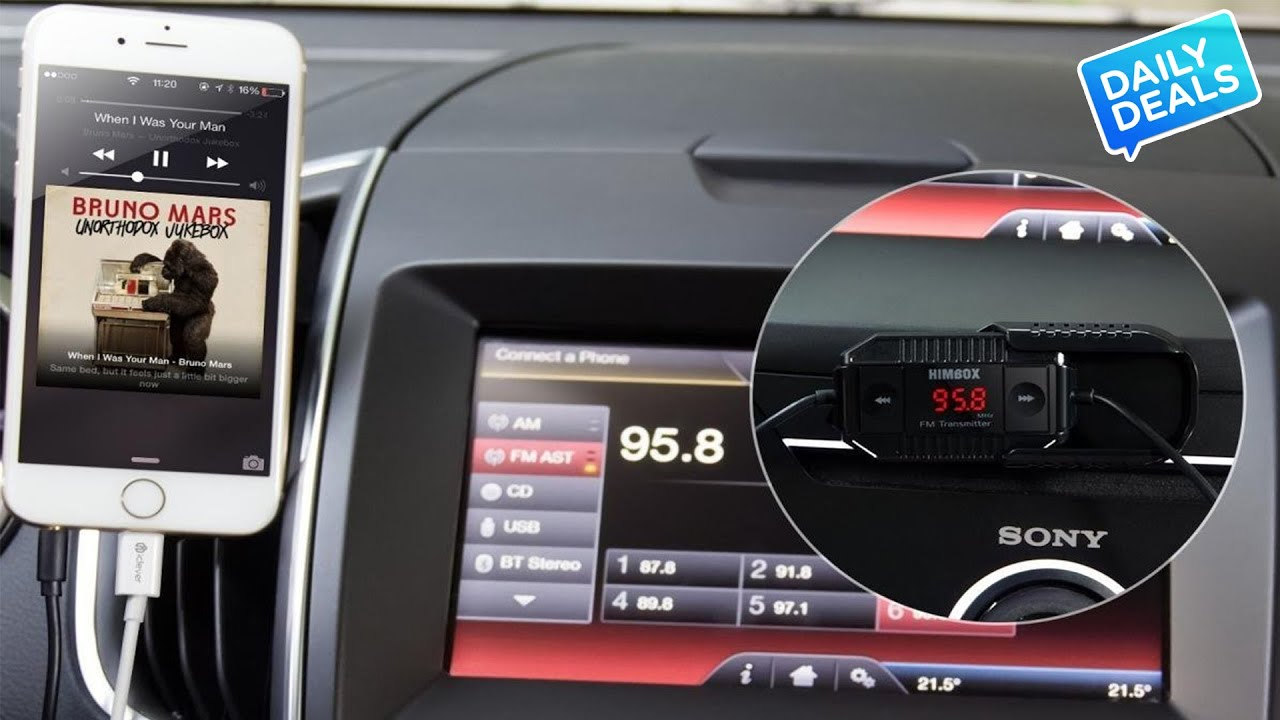 10 Fm Transmitter For Car Wireless Live Streaming Radio The This Is Basic But Allows Transmission Of Audio To An Am Deal Guy