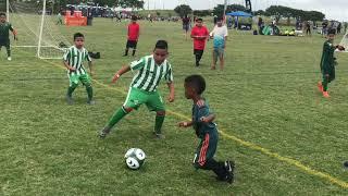 Asani #6 and Enoch #7 in the Copa Univision Tournament - Austin 2019