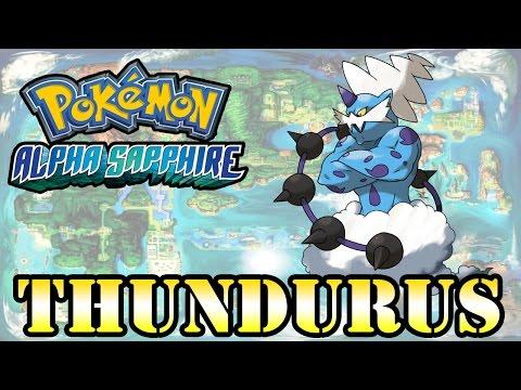 Caçando Lendários [Pokémon Alpha Sapphire] - Thundurus