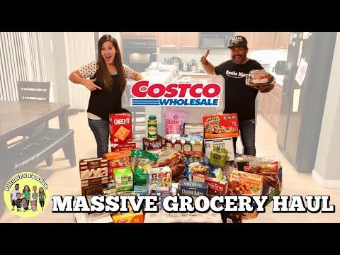MASSIVE COSTCO GROCERY HAUL | OUR BIGGEST COSTCO HAUL EVER $634 | PHILLIPS FamBam Hauls