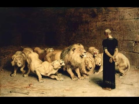 Image result for daniel lions den bible