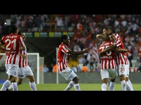 Goller | Antalyaspor 7 - 0 Trabzonspor | 13/05/2016