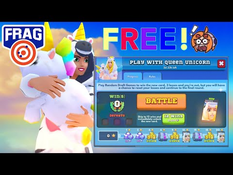 Play With QUEEN UNICORN Event | Frag Pro Shooter