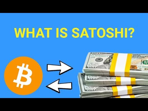 What is a Satoshi?