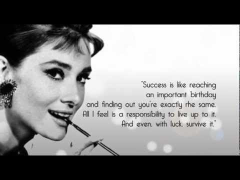 Quotes by Audrey Hepburn - YouTube