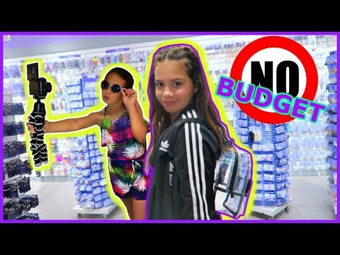 "NO BUDGET SHOPPING CHALLENGE ""AT THE MALL WITH MY FRIENDS"" SISTER FOREVER"