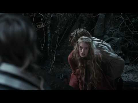 Bran Gets Pushed Out Of A Window By Jamie Lannister||Game Of Thrones