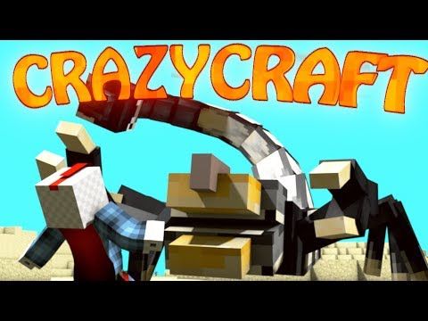 Minecraft | CrazyCraft - OreSpawn Modded Survival Ep 3 -