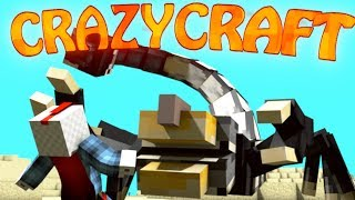 "Minecraft | CrazyCraft - OreSpawn Modded Survival Ep 3 - ""MORPHING GOES WRONG"""