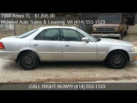 1998 acura tl 2 5 4dr sedan for sale in milwaukee wi 53210 youtube. Black Bedroom Furniture Sets. Home Design Ideas