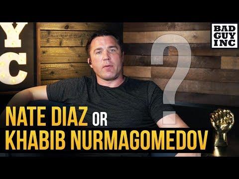 Who should Conor McGregor fight next? Nate Diaz or Khabib Nurmagomedov...