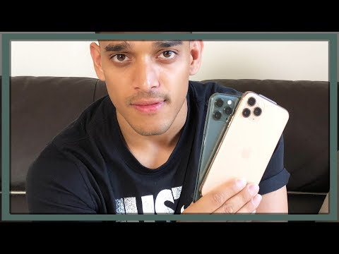 Unboxing   IPhone 11 Pro Midnight Green & Gold