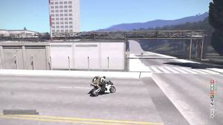 Testing the new Police bike's with Gee Famous - CG Arma 3 Life