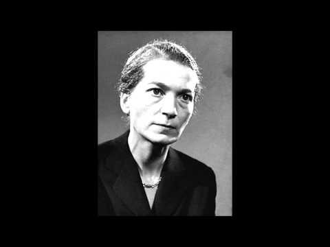 Beethoven - Piano sonata n°24 op.78 - Annie Fischer