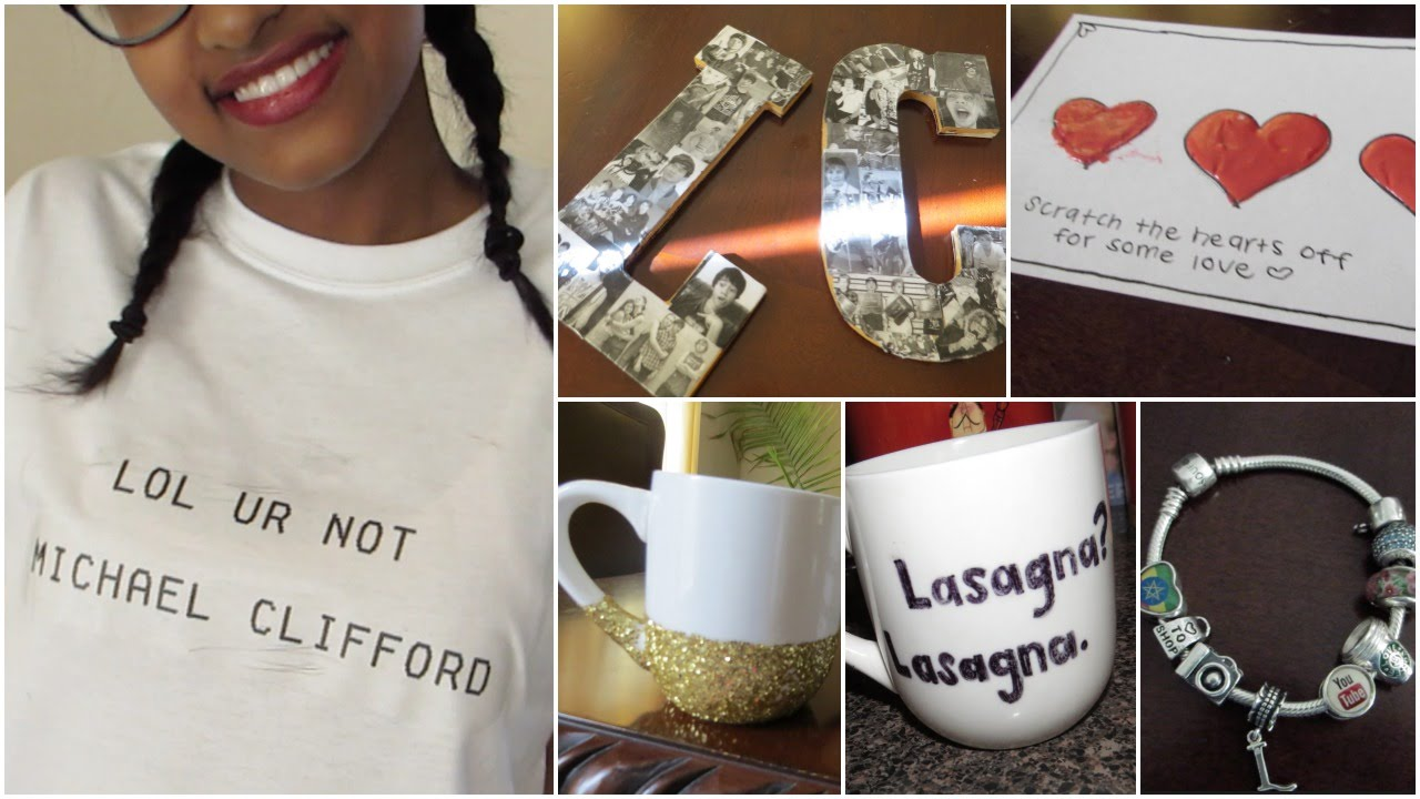 cute easy diy tumblr inspired gift ideas youtube
