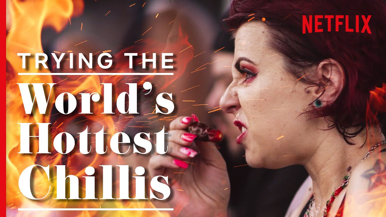 Download The World's Hottest Chilli-Eating Contest - The GIANT Carolina Reaper | We Are The Champions