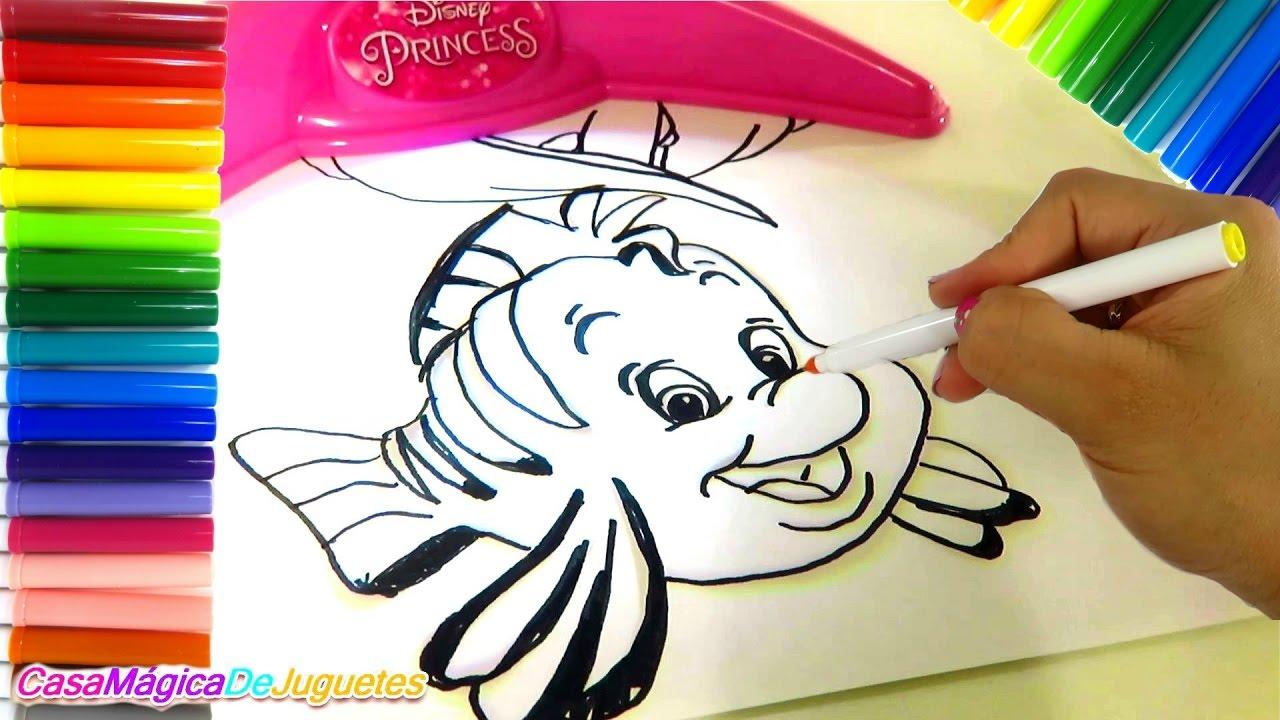 Dibujando Con Proyector De Imagenes De Princesas De Disney Para Aprender A Dibujar Como Expertos Youtube