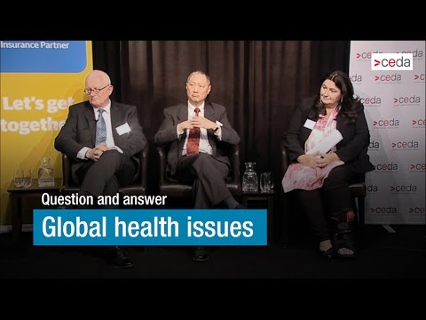 Global health issues - question and answer