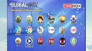 Como colocar listas IPTV no Cinebox