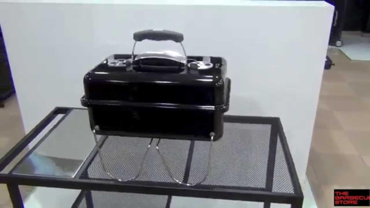 Barbacoa de carb n portatil weber go anywhere youtube - Barbacoa portatil carbon ...