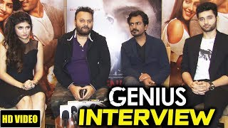 GENIUS Movie Star Cast Interview | Utkarsh Sharma, Ishitha Chauhan, Nawazuddin Siddiqui