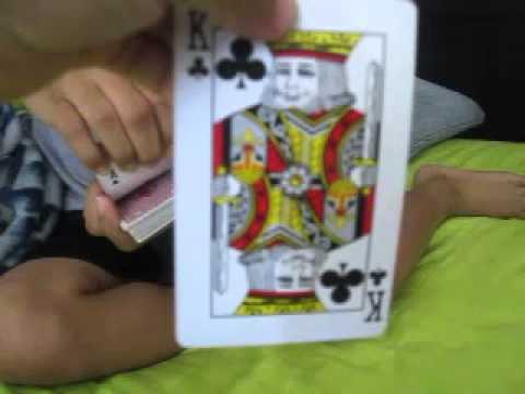 King of clubs magic trick