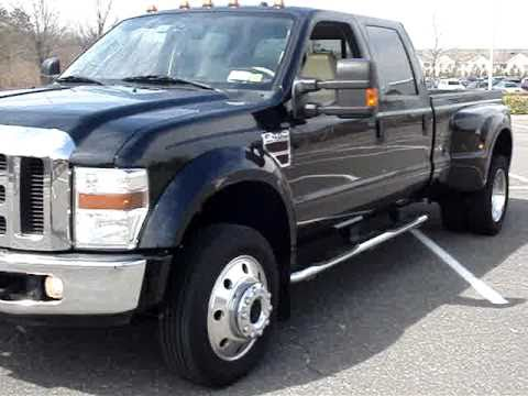 sold 2008 ford f450 for sale super duty lariat crew fx4 dvd loaded sold youtube. Black Bedroom Furniture Sets. Home Design Ideas