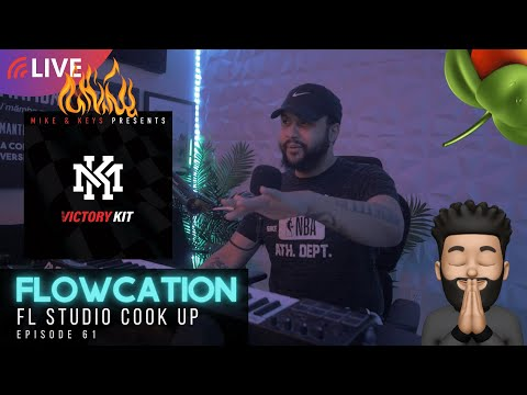 FLOWCATION [ep. 61] Curtiss King Makes Beats in FL Studio With Subscriber's Loops