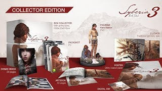Syberia 3 Collector's Edition PS4 Unboxing