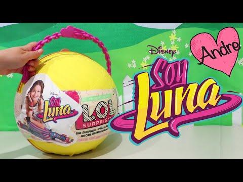 LOL Big Surprise DIY de Soy Luna   Muñecas y juguetes con Andre para niñas y niños