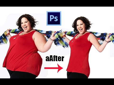 How to Make Someone Look Skinny with the Liquify Tool in ...