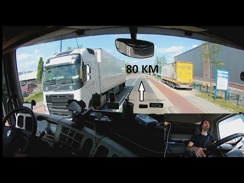 Hollanda 80Km Tır Yolculuğu - Kaptanın Seyir Defteri