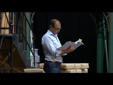 Making-of »Les Troyens/Die Trojaner«, Teil 3, Bühnenprobe mit Chordirektor