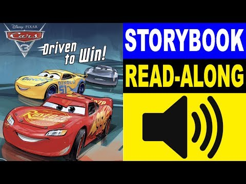 Cars 3 Read Along Story book | Cars 3 - Drive to Win! | Read Aloud Story Books for Kids