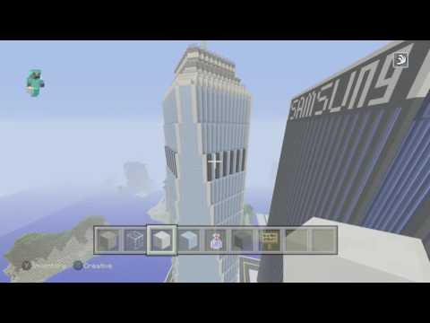 Minecraft City Build Ep.4 - Building The World Financial Center! -