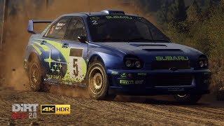 DiRT Rally 2.0 - 4K HDR Greece Rally Replay