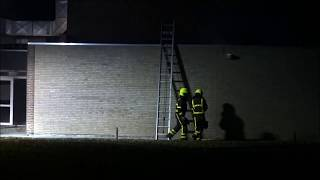 17 11 2018 Grote brand Sportcentrum Laco Nederweert